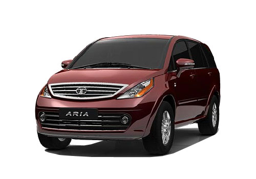 Tata Aria Front High Angle View Exterior Picture