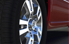 Tata Aria Wheel and Tyre Picture