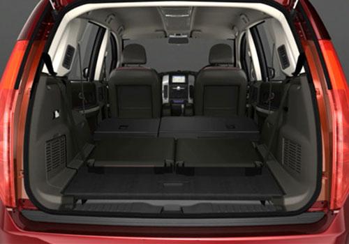 . Tata Aria Boot Open Interior Picture   CarKhabri com