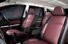 Tata Aria Front Seats Picture