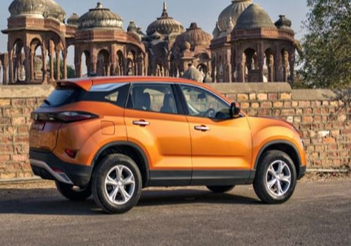 Tata Harrier Front Angle Side View Exterior Picture