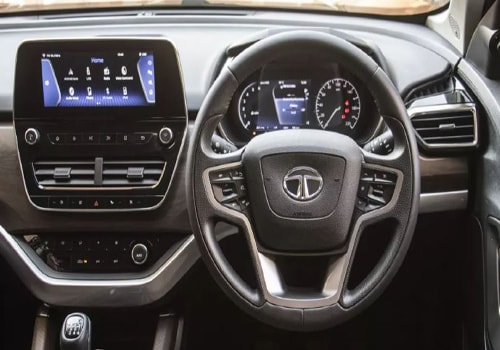 Tata Harrier Central Control Interior Picture