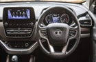Tata Harrier Central Control Picture
