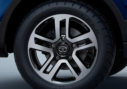 Tata Hexa Wheel and Tyre Exterior Picture