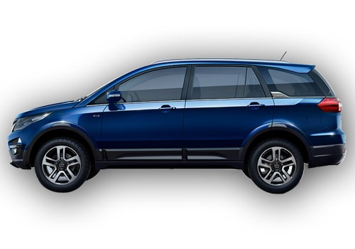 Tata Hexa Front Angle Side View Exterior Picture