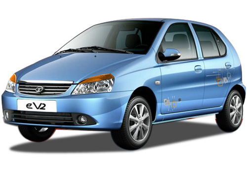 Tata Indica eV2 Front Angle View Exterior Picture