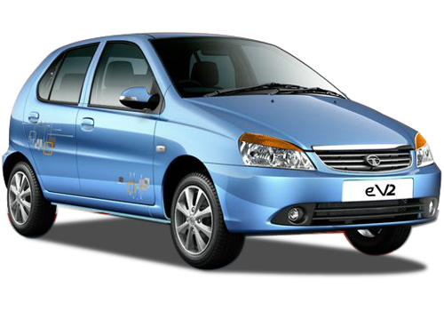 Tata Indica eV2 Front Low Angle View Exterior Picture