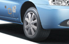 Tata Indca eV2 Wheel Picture