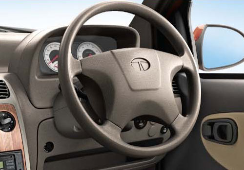 Tata Indica eV2 Steering Wheel Interior Picture