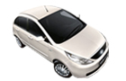 Tata Indica Vista in Porcelain white Color