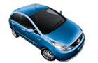 Tata Indica Vista in Blue Color