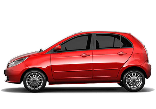 Tata Indica Vista Front Angle Side View Exterior Picture