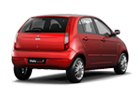 Tata Indica Vista Rear Angle View Picture