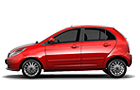 Tata Indica Vista Front Angle Side View Picture