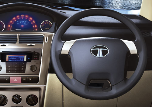 Tata Indica Vista Steering Wheel Interior Picture