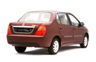 Tata Indigo XL Rear Angle View Picture