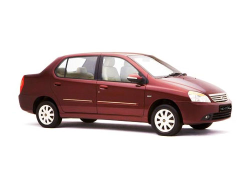 Tata Indigo Front Side View Exterior Picture