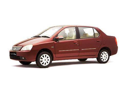 Tata Indigo Front Angle Low Wide Exterior Picture