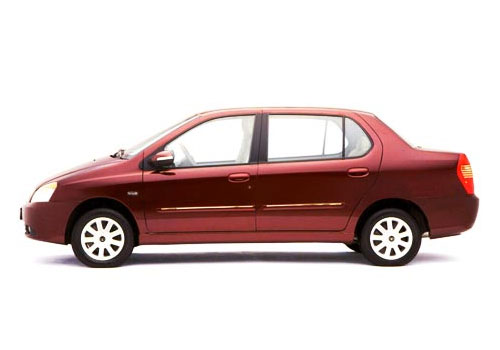 Tata Indigo Front Angle Side View Exterior Picture