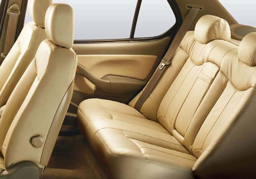 Tata Indigo Rear Seats Interior Picture