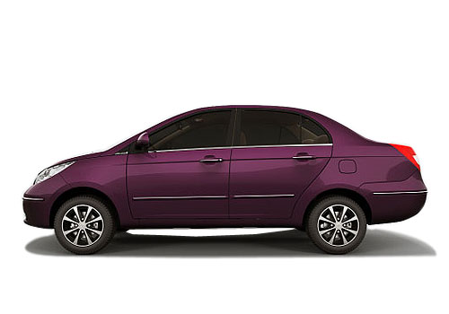Tata Manza Front Angle Side View Exterior Picture