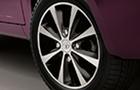 Tata Manza Wheel & Tyre Picture