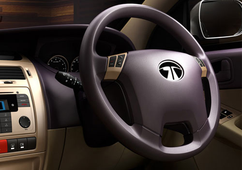 Tata Manza Steering Wheel Interior Picture
