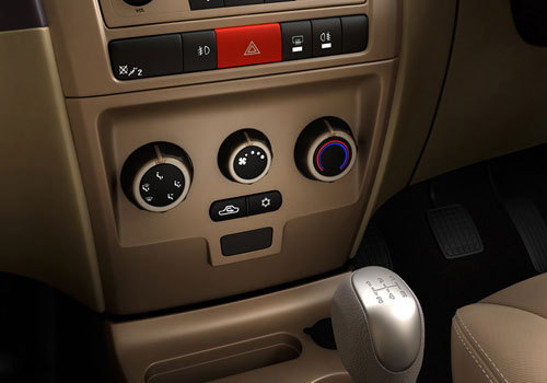 Tata Manza Rear AC Control Interior Picture