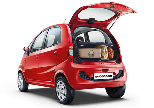 Tata Nano Boot Open Exterior Picture
