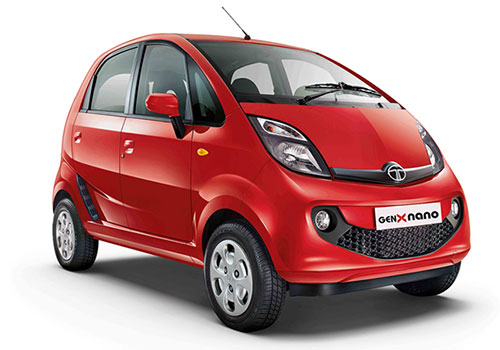 Tata Nano Front Low Angle View Exterior Picture