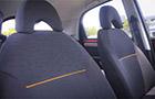 Tata Nano Front Seats Picture