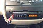 Tata Nano Front AC Controls Picture