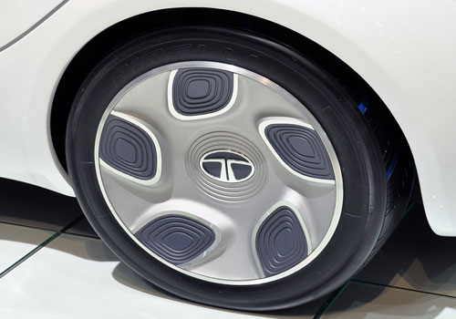 Tata Pixel Wheel and Tyre Exterior Picture
