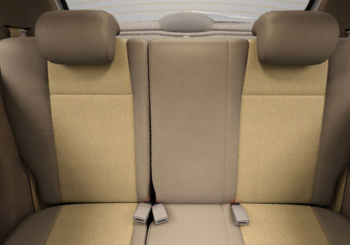 Tata Prima Rear Seats Interior Picture