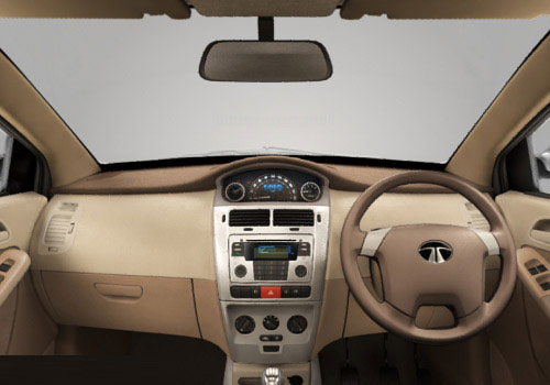 Tata Prima Steering Wheel Interior Picture