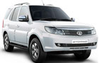 Tata Safari Storme in Arctic White Color