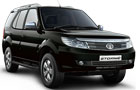 Tata Safari Storme in Aster Black Color