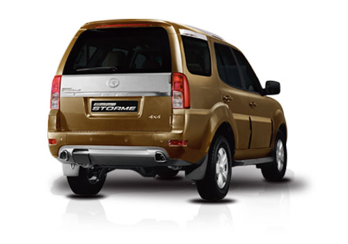 Tata Safari Storme Rear Angle View Picture