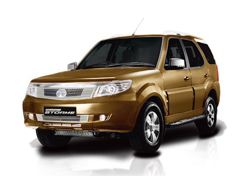 Tata Safari Storme Front View Side Picture