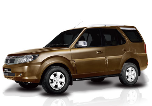 Tata Safari Storme Front Side View Exterior Picture
