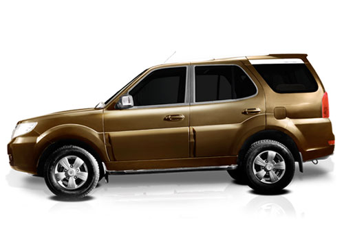 Tata Safari Storme Front Angle Side View Exterior Picture
