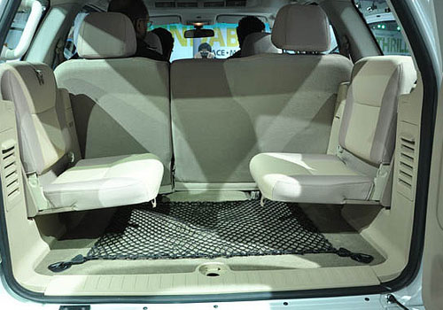 Tata Safari Storme Rear Seat Picture