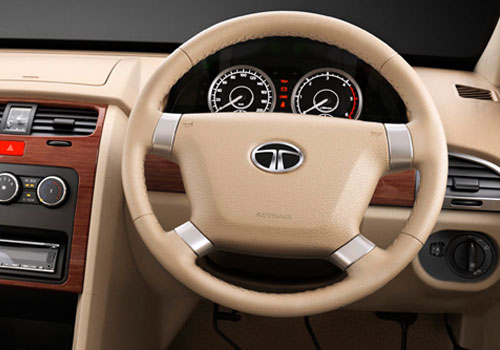 Tata Safari Storme Steering Wheel Picture