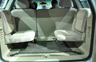 Tata Safari Storme Rear Seats Picture