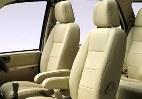 Tata Safari Front Seats Interior Picture