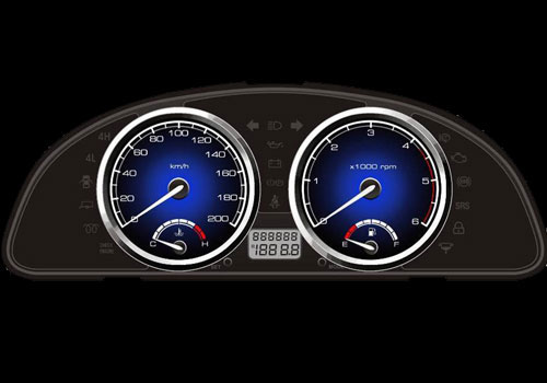 Tata Safari Tachometer Interior Picture
