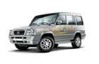 Tata Sumo Gold in Arctic White Color
