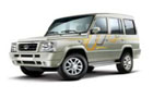 Tata Sumo Gold in Dew White Color