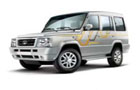 Tata Sumo Gold in Arctic Silver Color