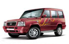 Tata Sumo Gold in Sardinia Red Color